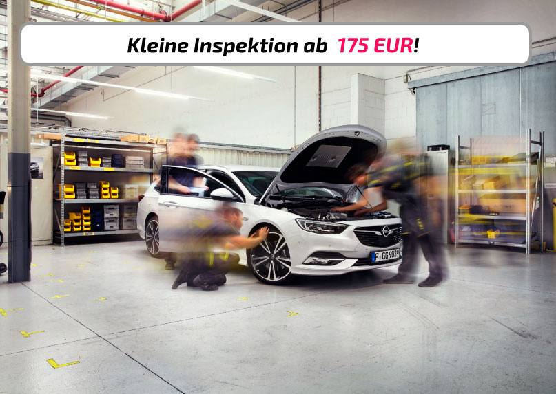 Angebot Inspektion