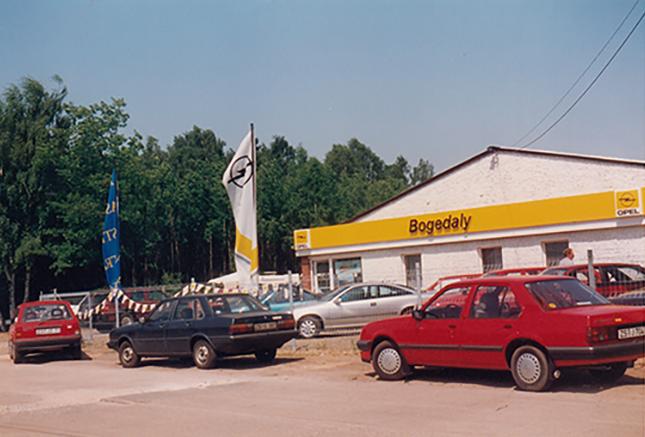 Vertrag mit Opel